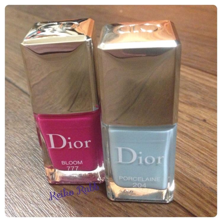 Dior nails spring 2014