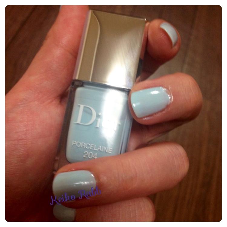 Dior nails spring 2014_2